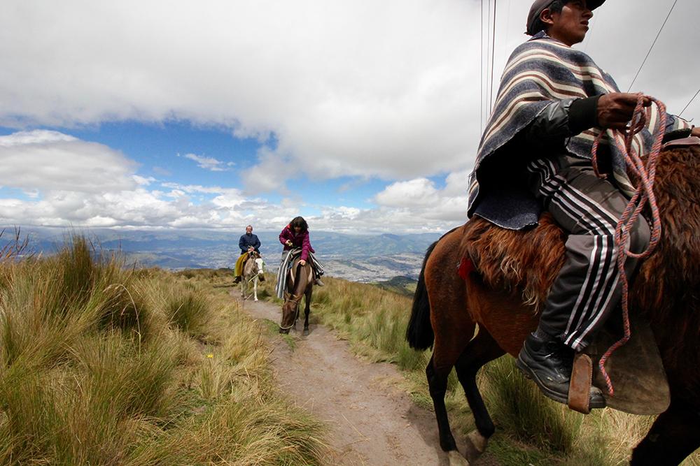 エンジニア就活_エクアドルの首都・キトの山上に住む民族